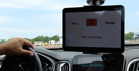 Connected vehicle devices field testing